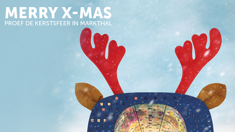 Taste the Christmas ambiance in Markthal!