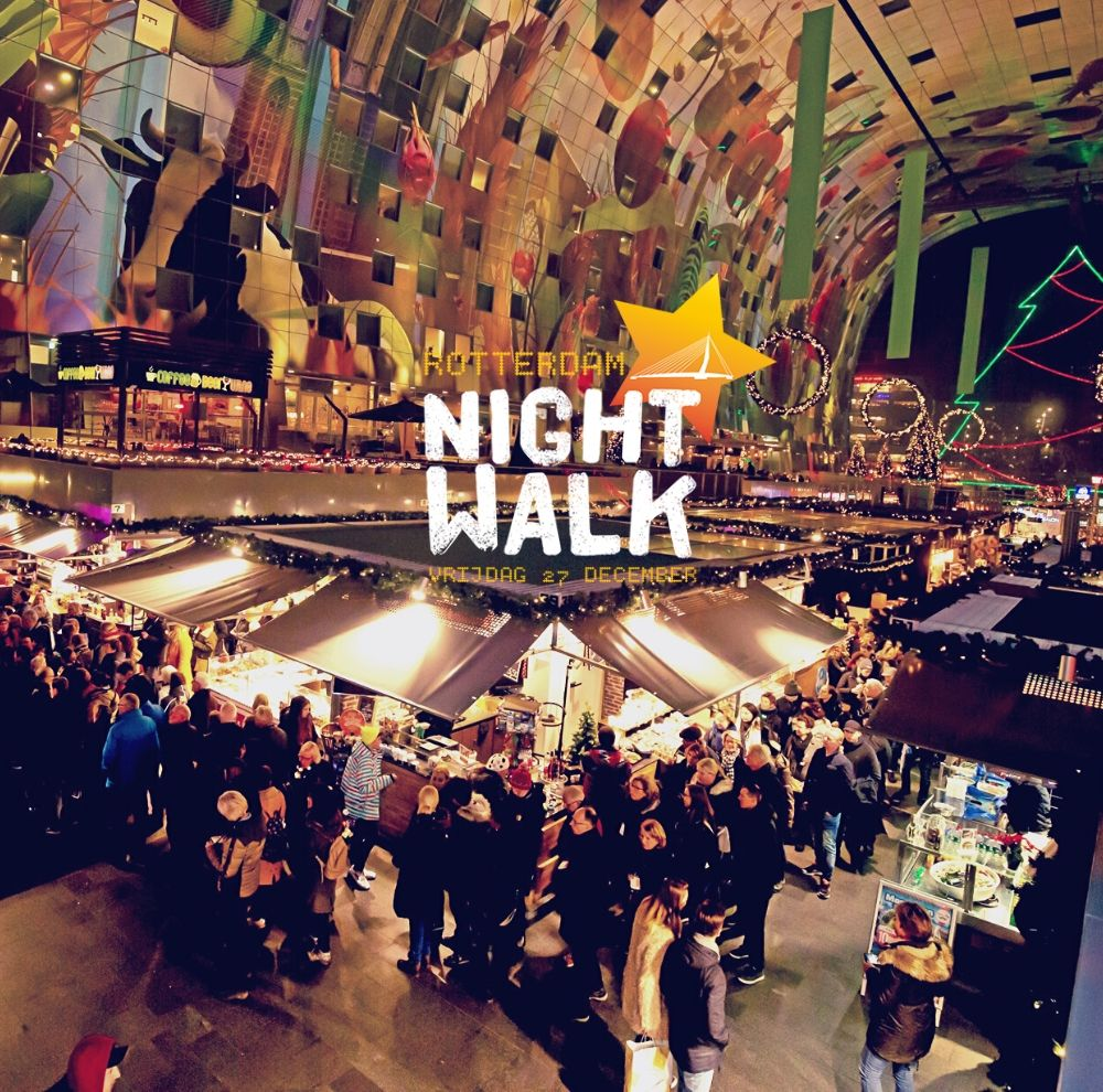 De eerste editie van Rotterdam Night Walk is geslaagd!